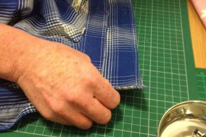 Rejigging a shirt collar