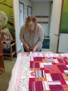 michele's 1st quilt