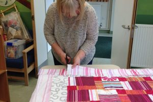Help Rejig make a quilt at The Festival of Thrift