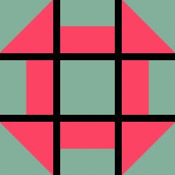 4 arrange to form pattern