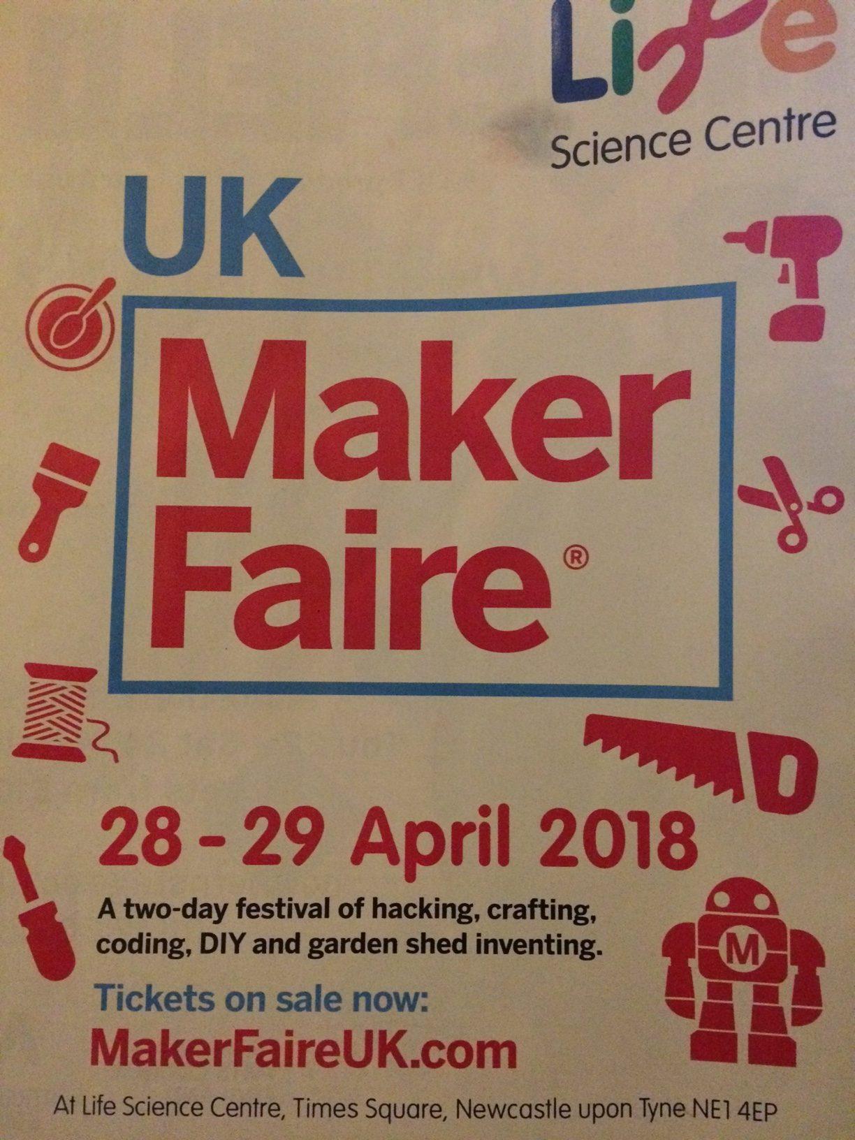 Makers Faire, Newcastle