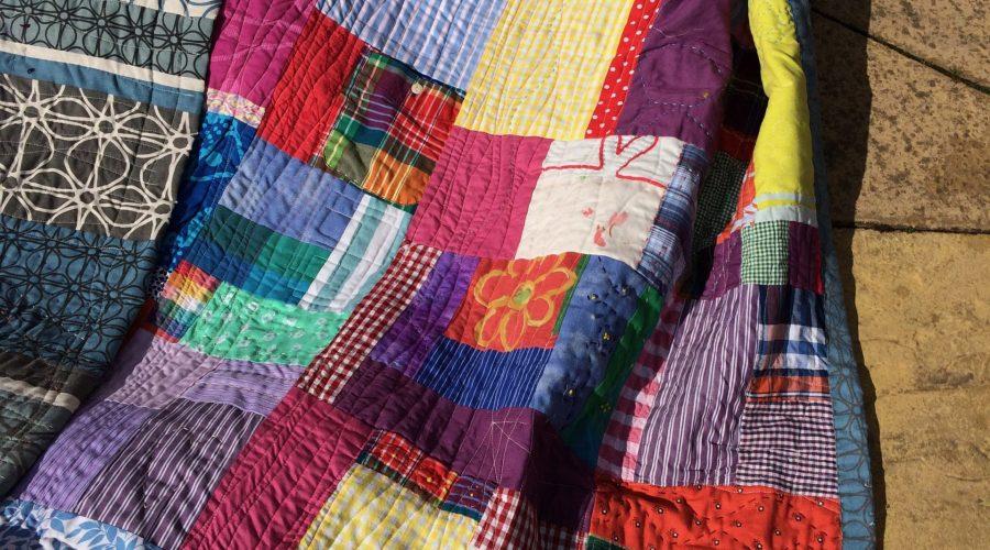 Rejig Quilt for the Festival of Thrift